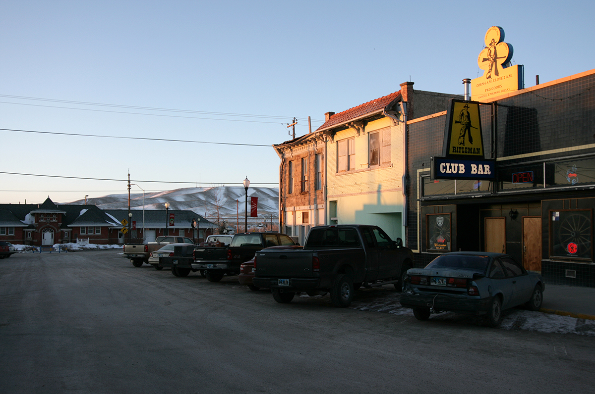 Sandy Sorlien, Fourth Street, Rawlins, Wyoming,  2008
