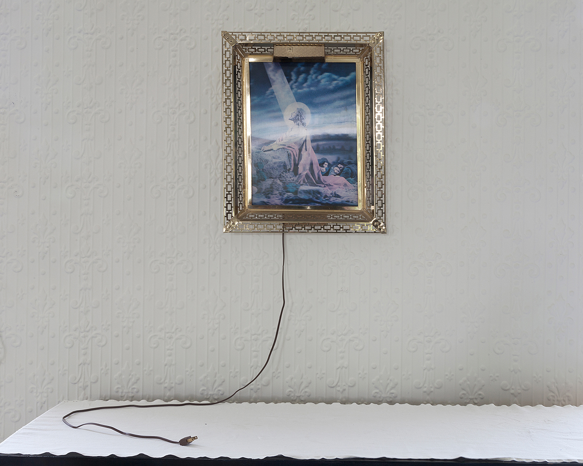 Jennifer Garza-Cuen, Electric Jesus, Eden, VT, 2014