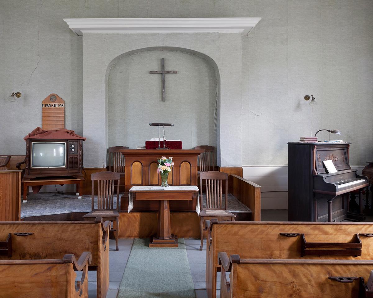 Jennifer Garza-Cuen, Adventist Altar, Eden, VT, 2014