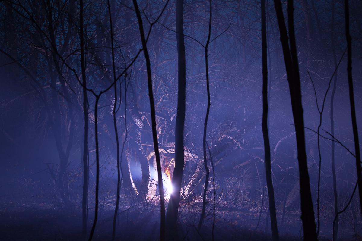 Amelia Baur, Burned Over #5, 2012