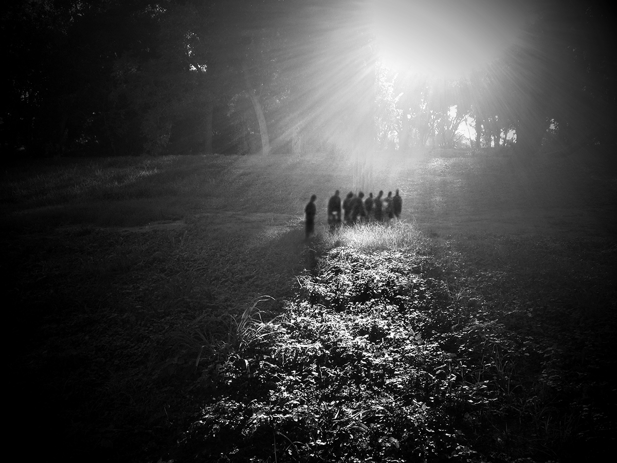 Angela Bacon-Kidwell, Gathering, 2012