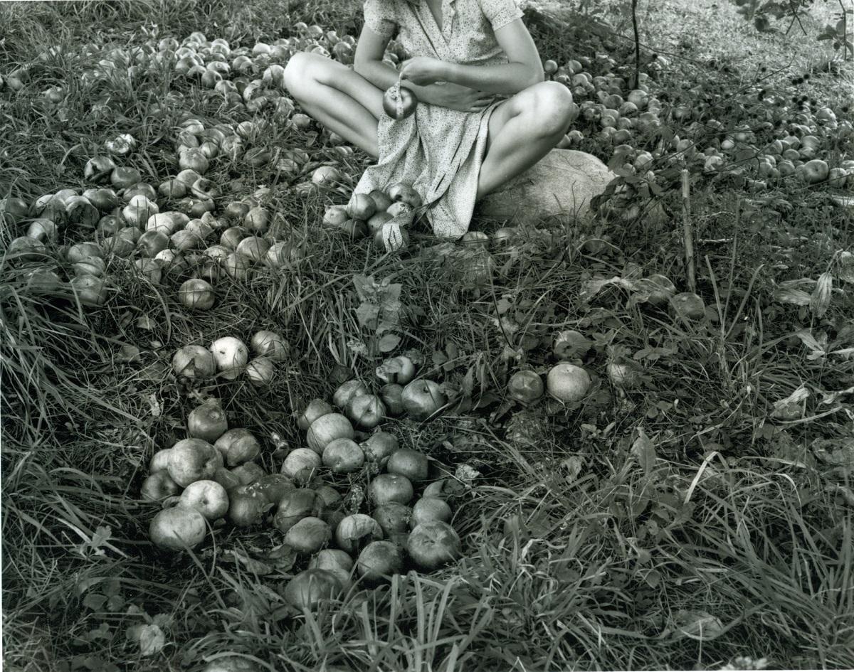 Agnieszka Sosnowska,  Dawn Fog. Self Portrait. Norwell, Massachusetts. 1993