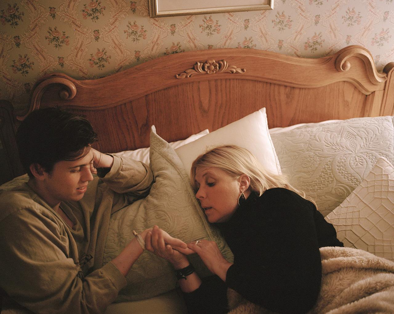 Marisa Chafetz, Mom reading Parker's Palm