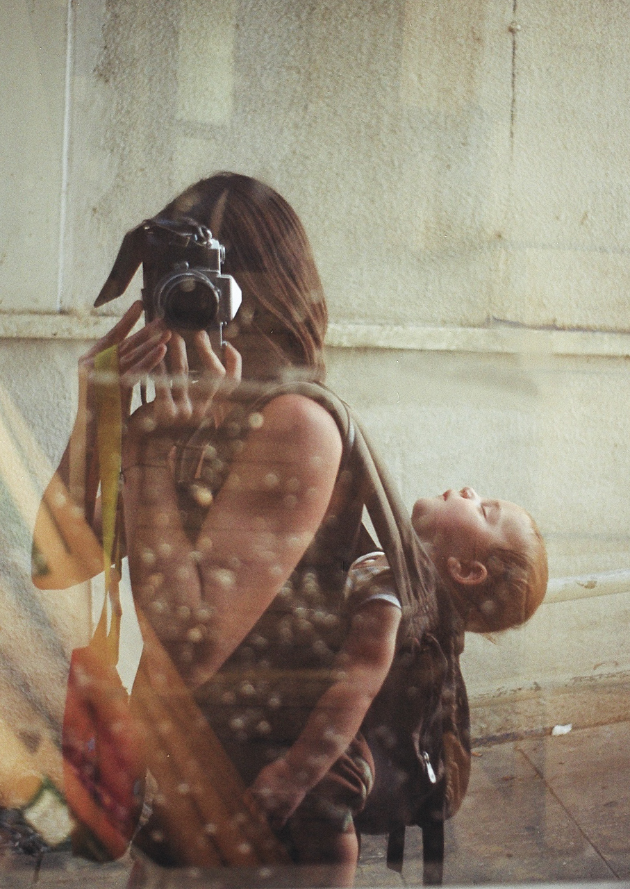 Kristin Dillon, No You Can't Change Film with a Baby on your Back
