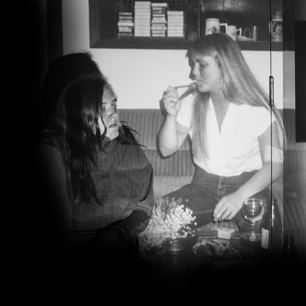Alyssa Willey, Mom and I at 20