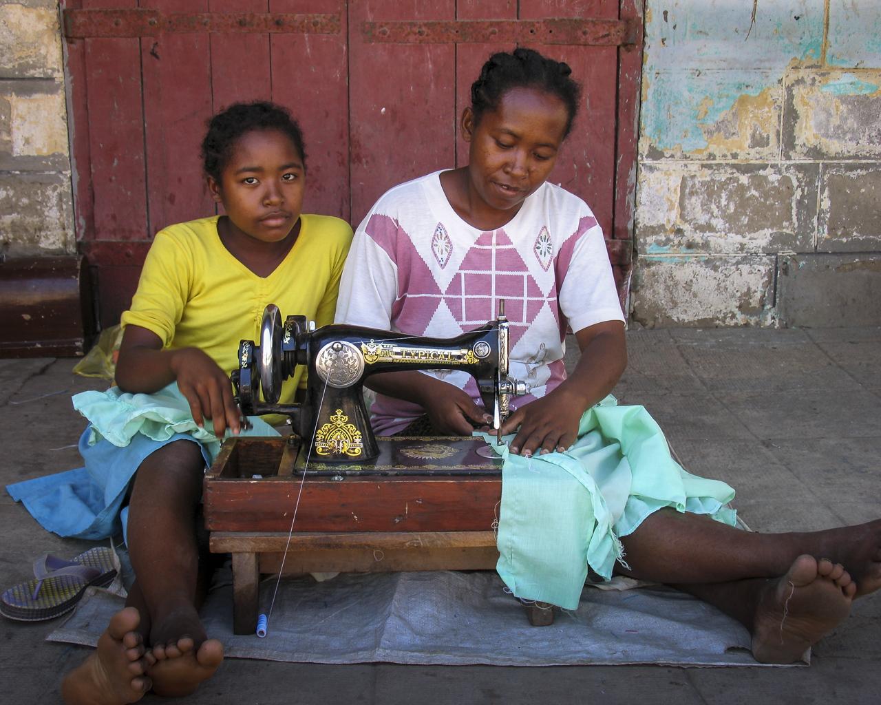 Judi Iranyi, Mother and Daughter in Madagascar
