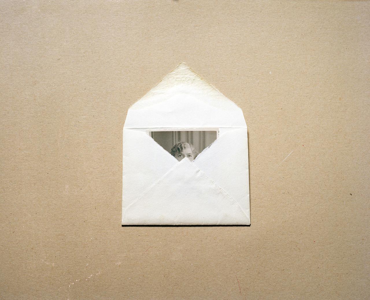 Dana Stirling, Lady in Envelope, 2012