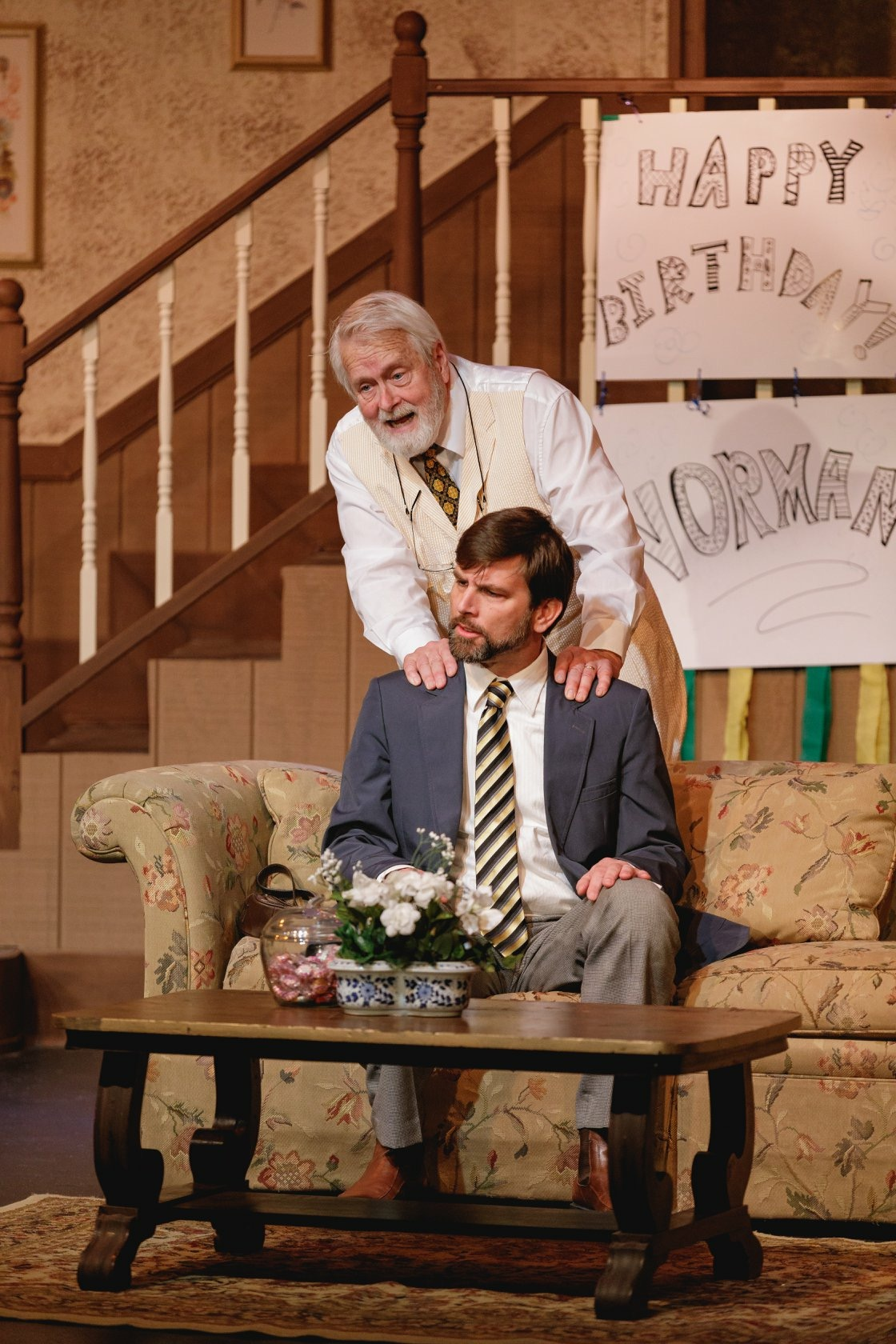 Tom Scott and Paul Gibson in On Golden Pond