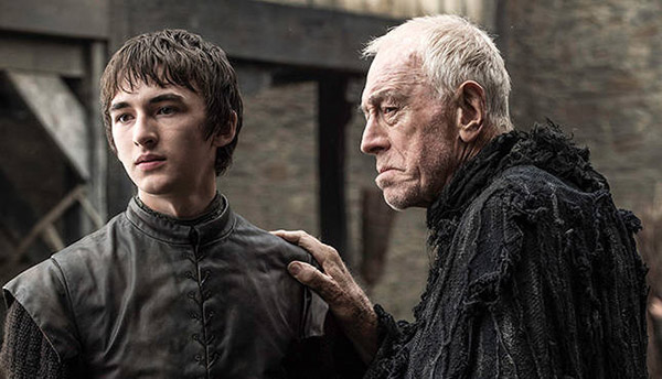 Bran Stark & The Three Eyed Raven