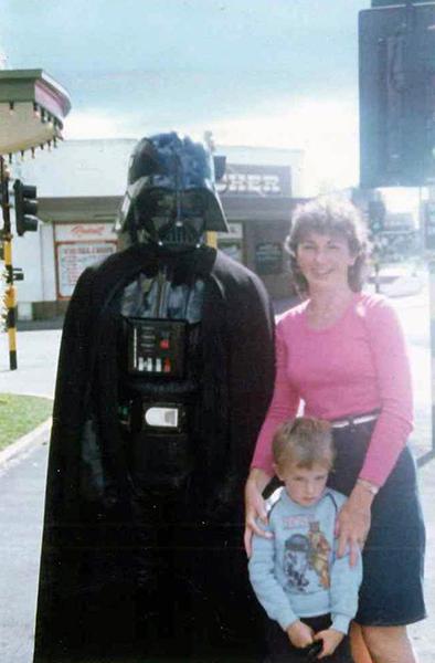 Mum, Me & Darth Vader