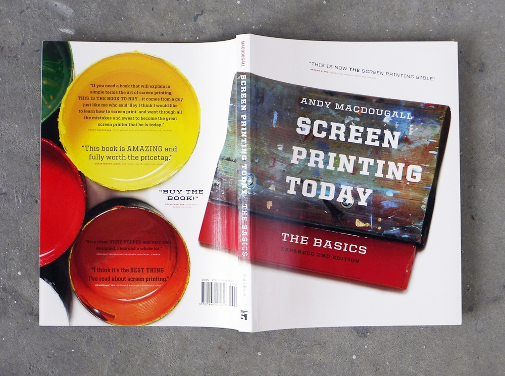 The only book you'll need about screen printing. Photo:  Squeegeeville