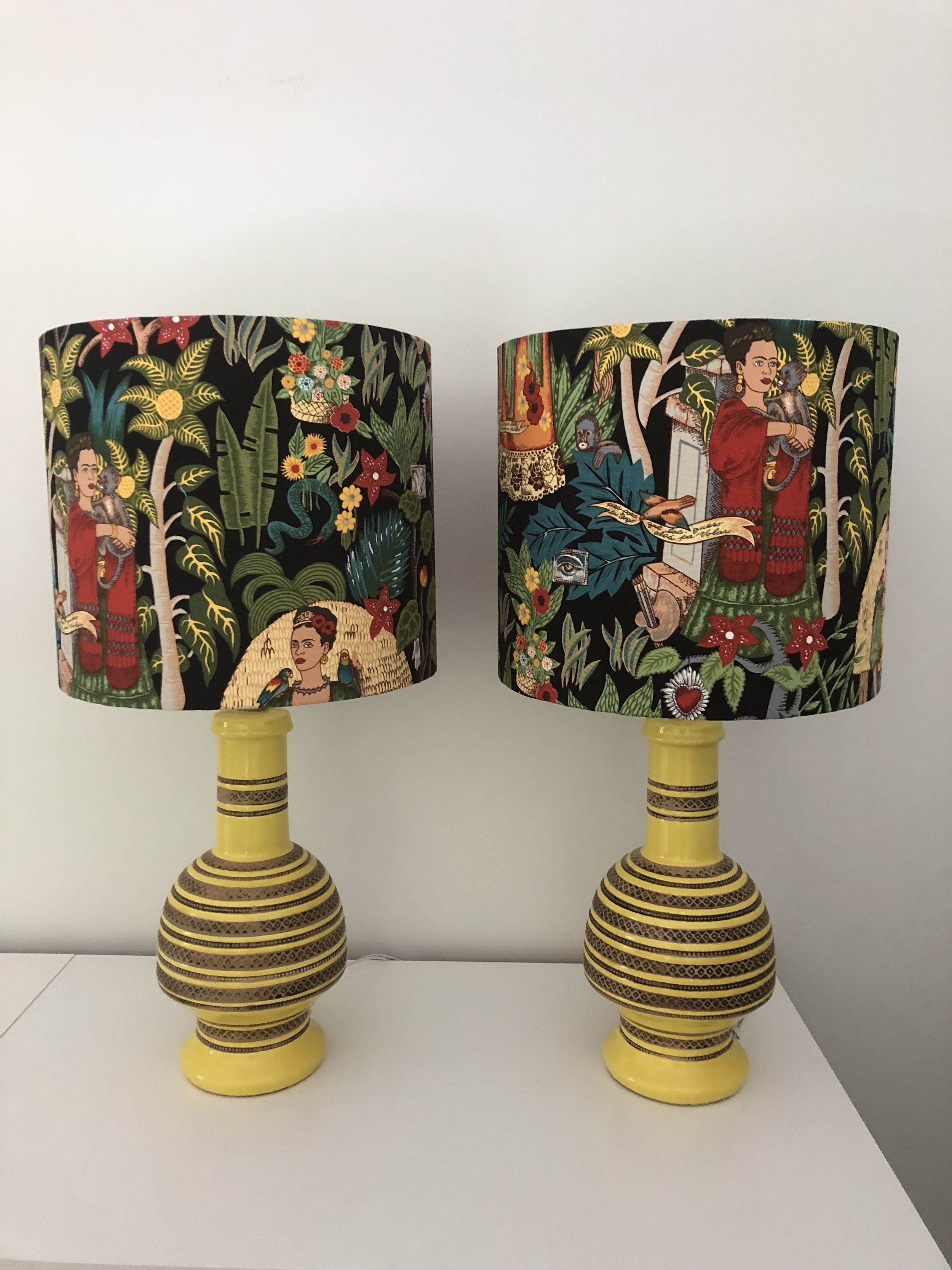 Lamps - Frida with yellow base.JPG
