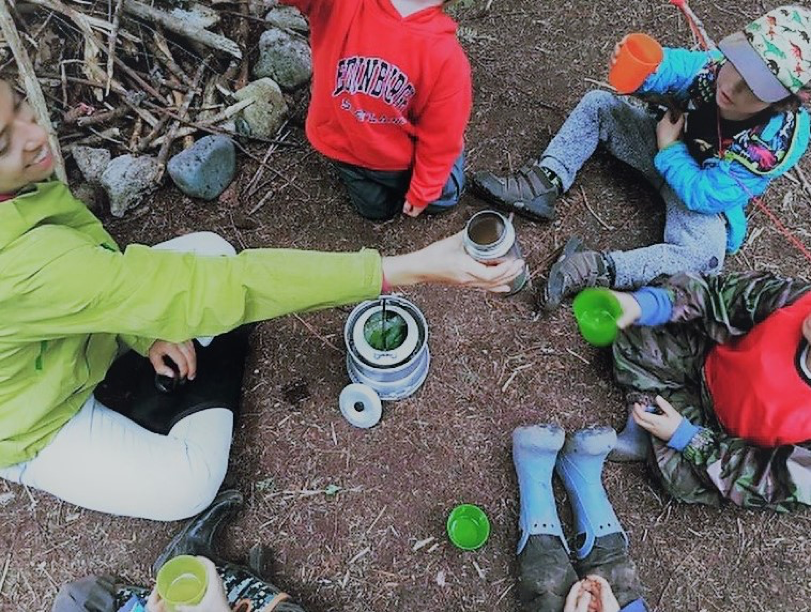 Indigenization is the act of making something more native. Connecting children to their environment and relationship to place is helpful while they learn about their role in society.