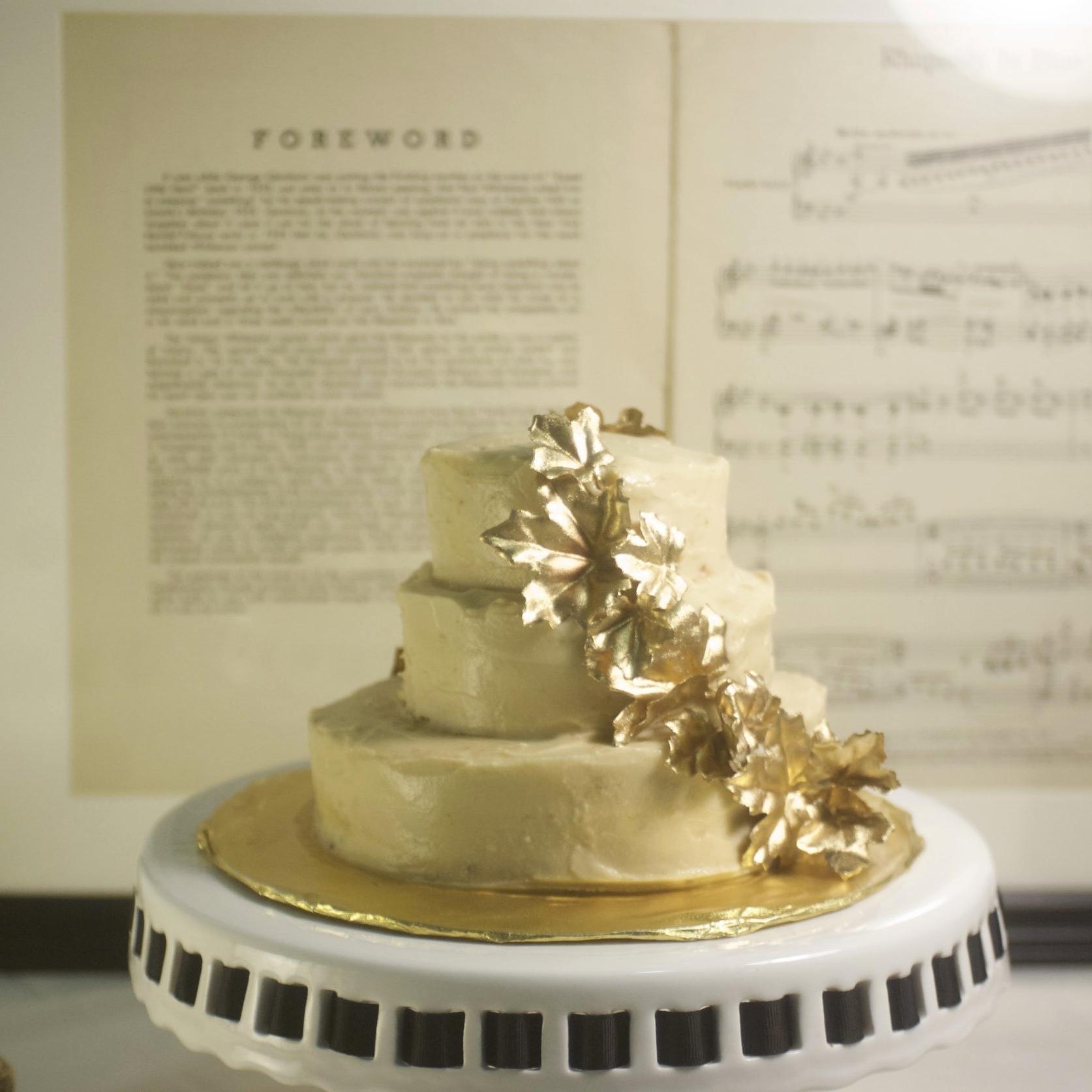 Fall maple cake