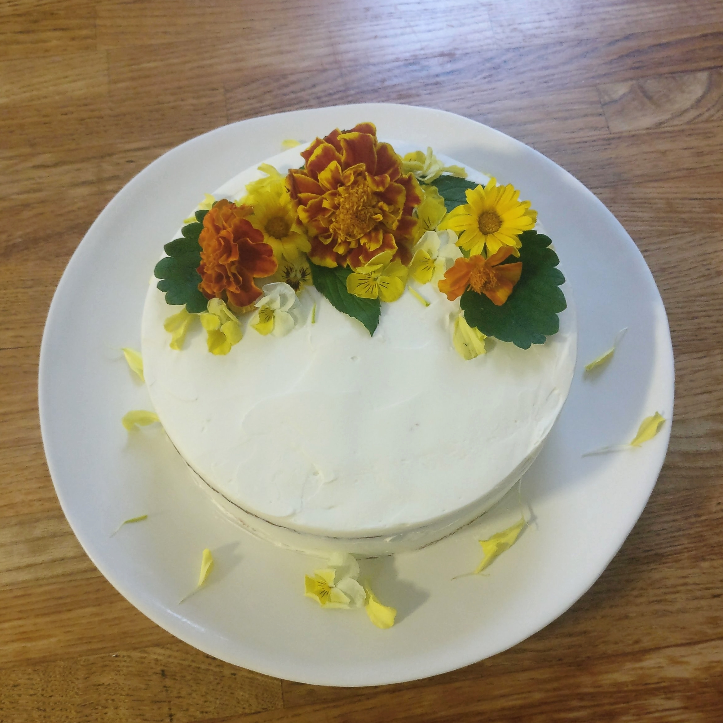 Not your average yellow cake