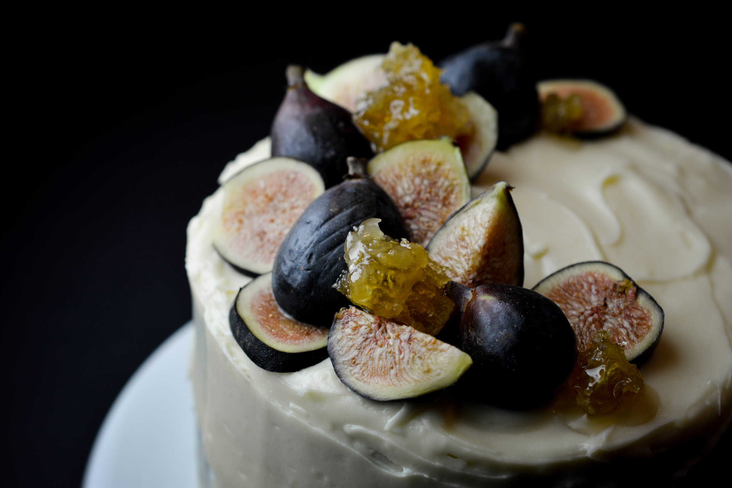 Fig spice cake