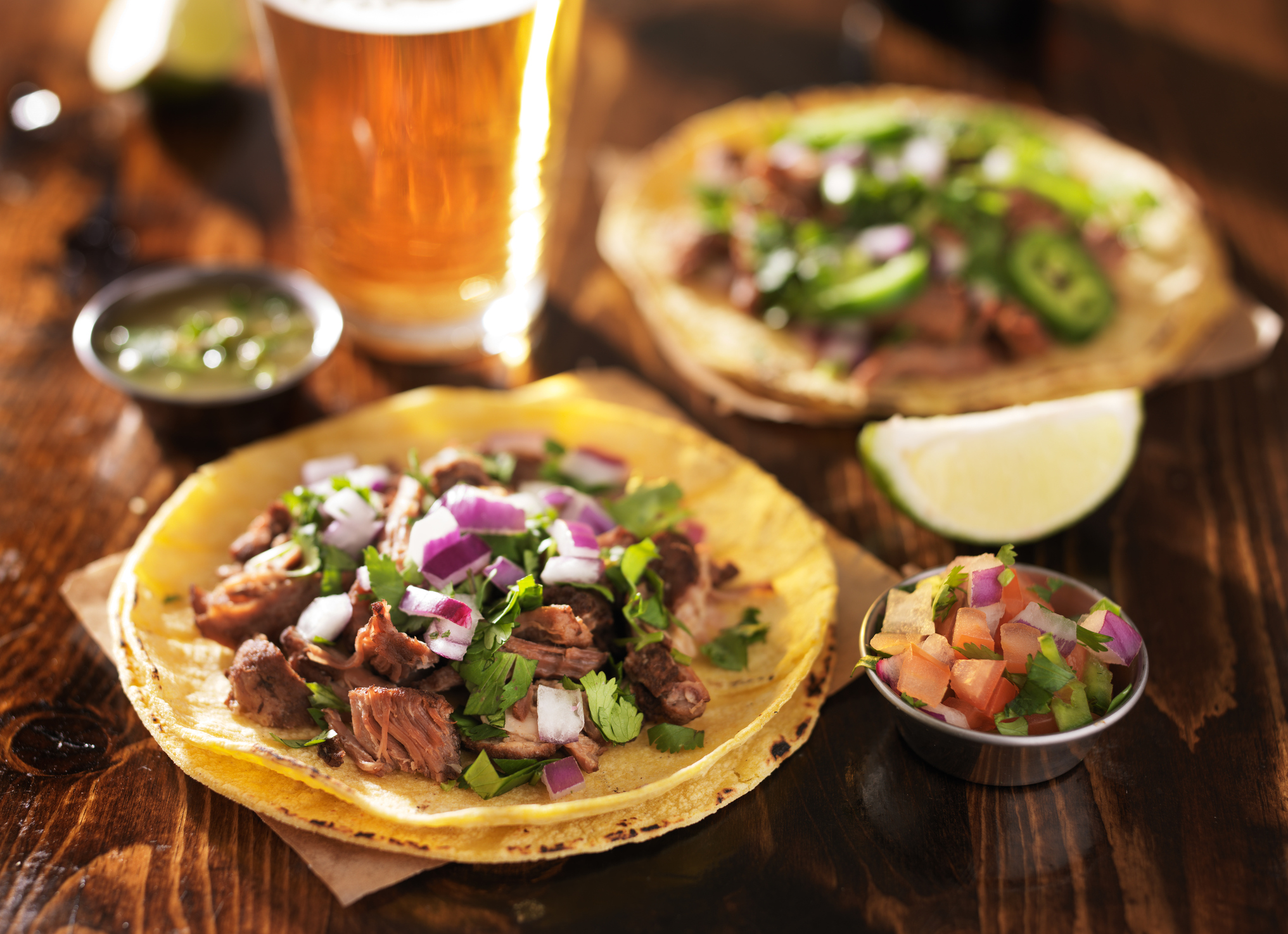 Mmmm, tacos. (Photo by Thinkstock)