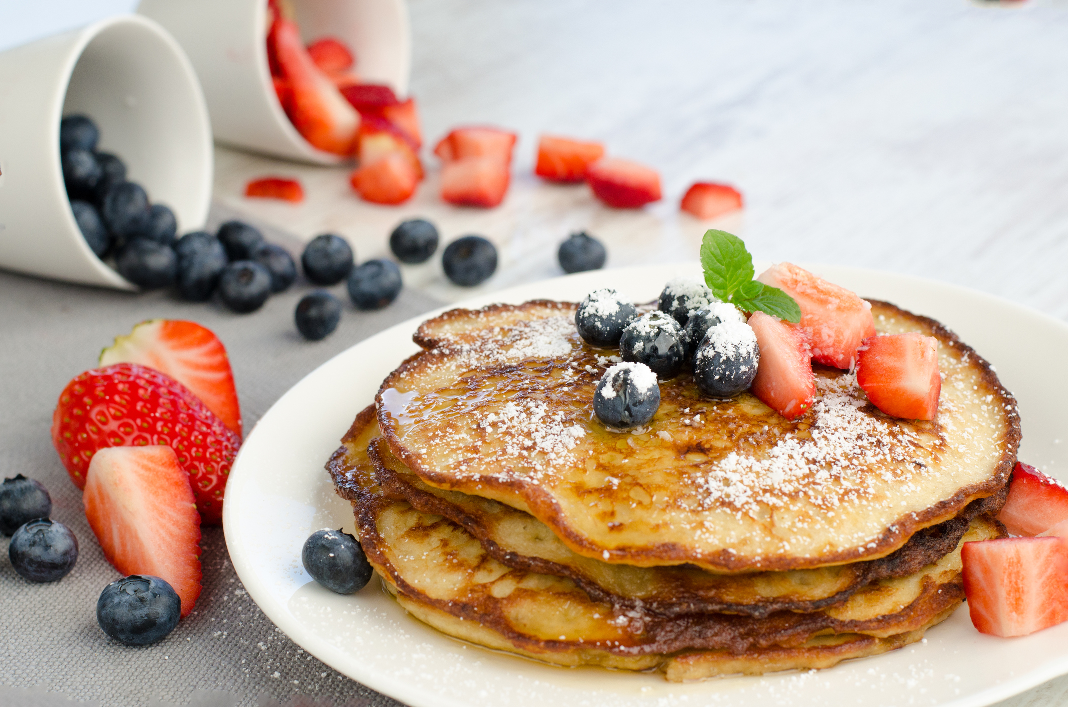 Who knew how important our weekly pancakes were? (photo by Thinkstock)
