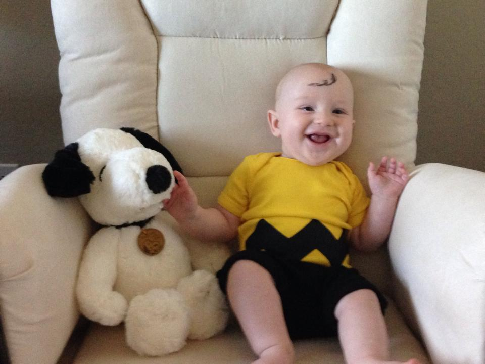 The cutest Charlie Brown ever? Um, yes.
