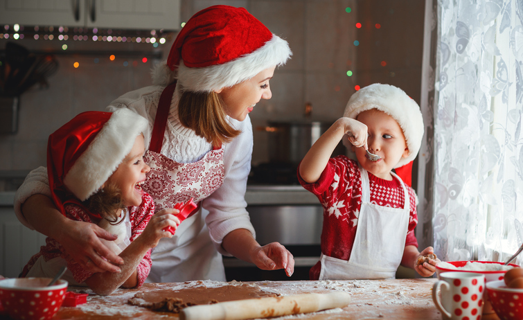 It's hard, yes, but try not to expect the idyllic baking day. (But, hey, it can happen!) Photo: Thinkstock
