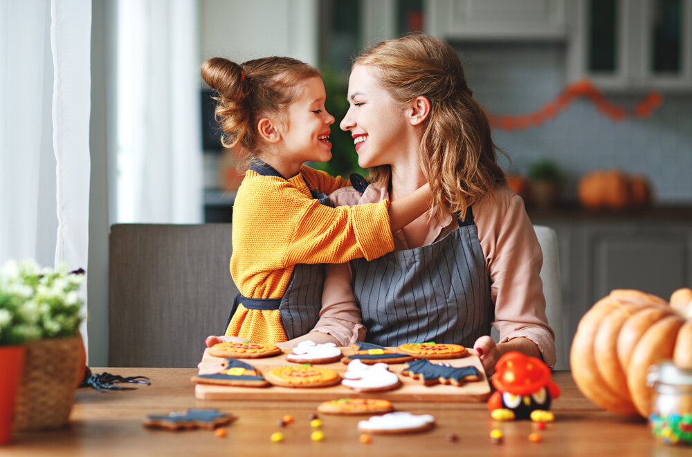 Time in the kitchen with our kiddos is all about making memories. The cookies are just a byproduct.