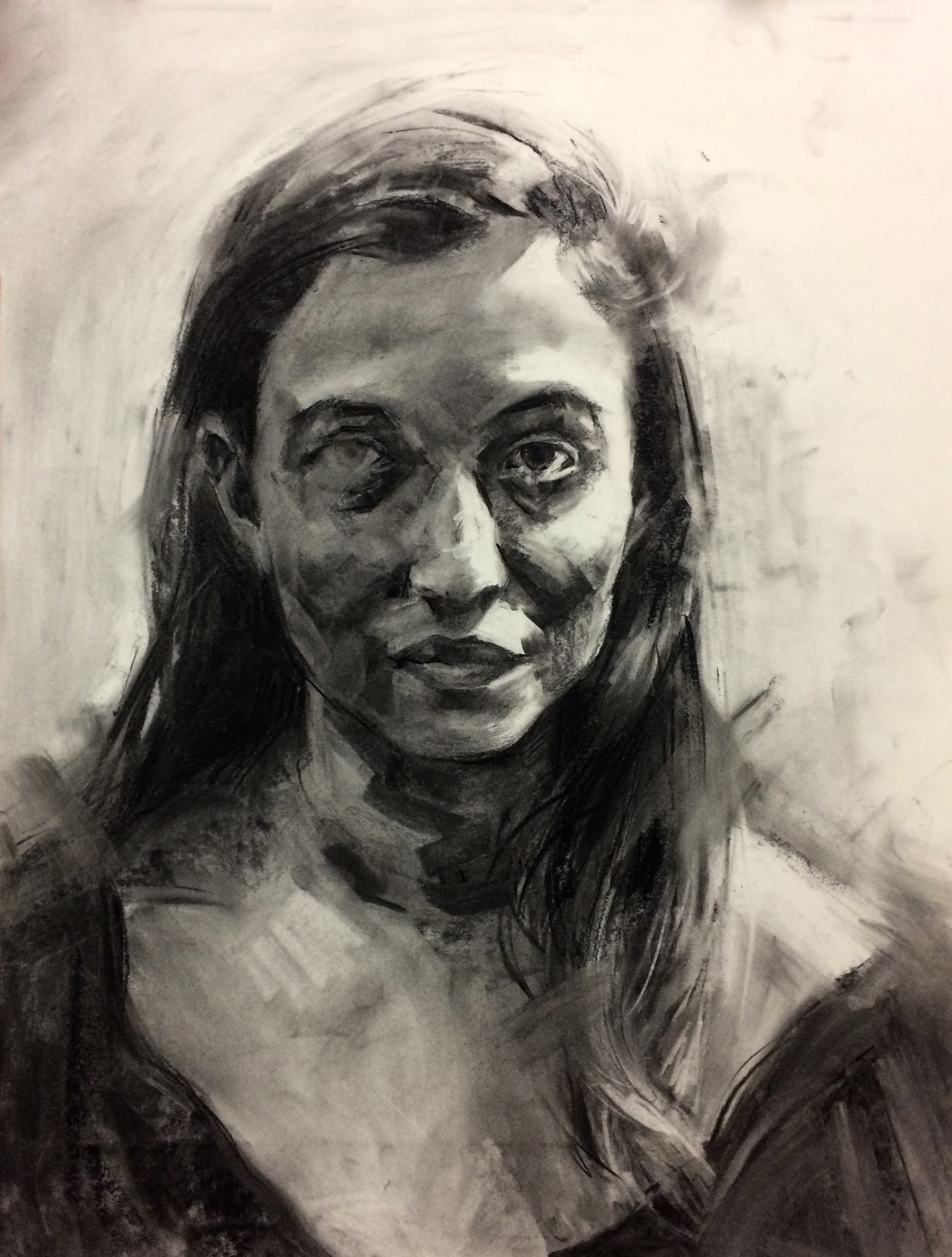 Magly / 18x24 / Charcoal / 2015