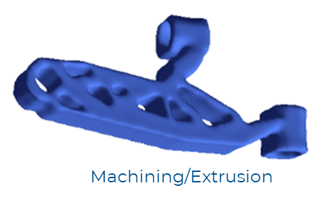 Pareto Machining Extrusion