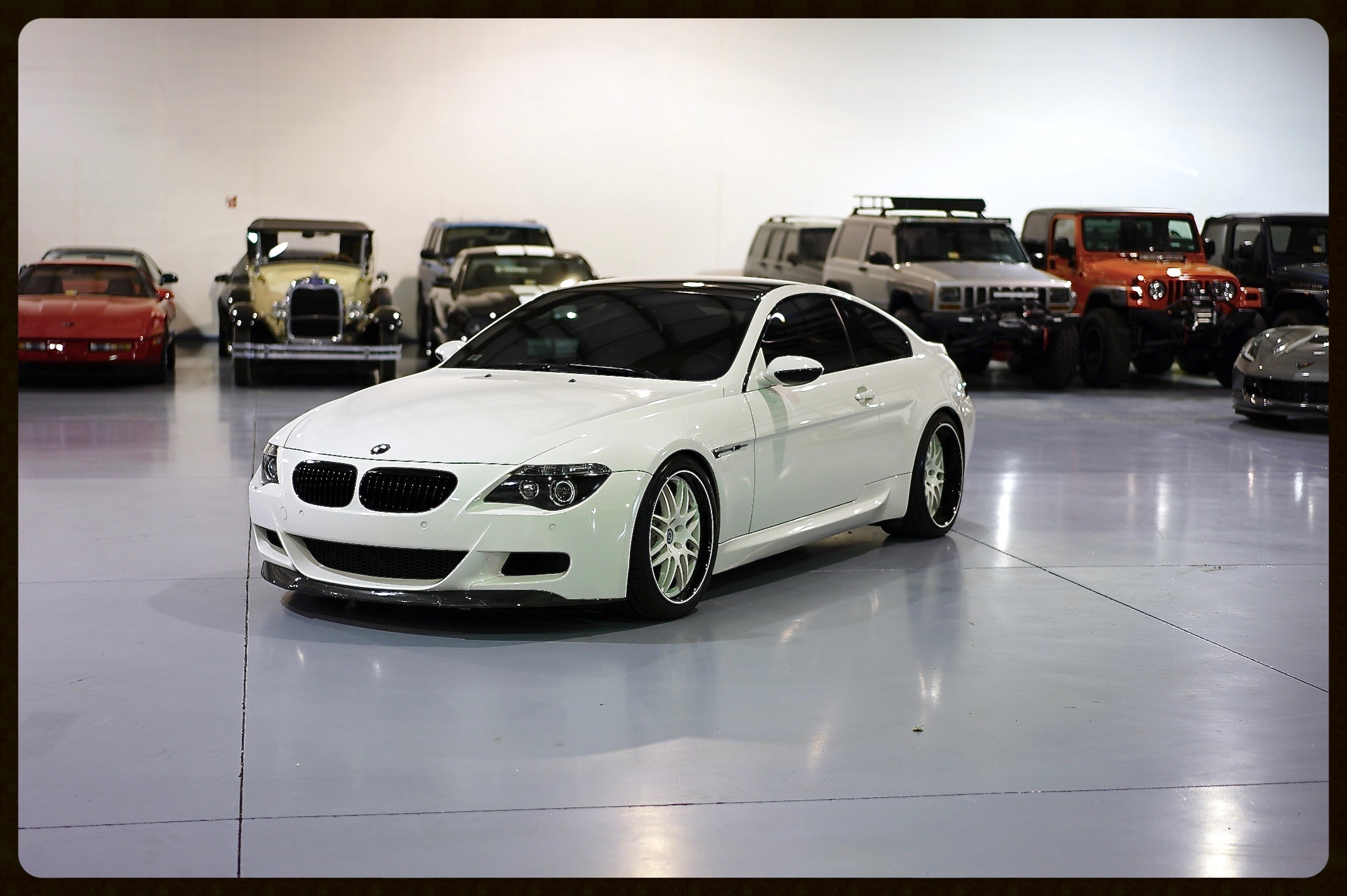BMW M6 with ONLY 29K Miles...HRE Wheels and MUCH MORE