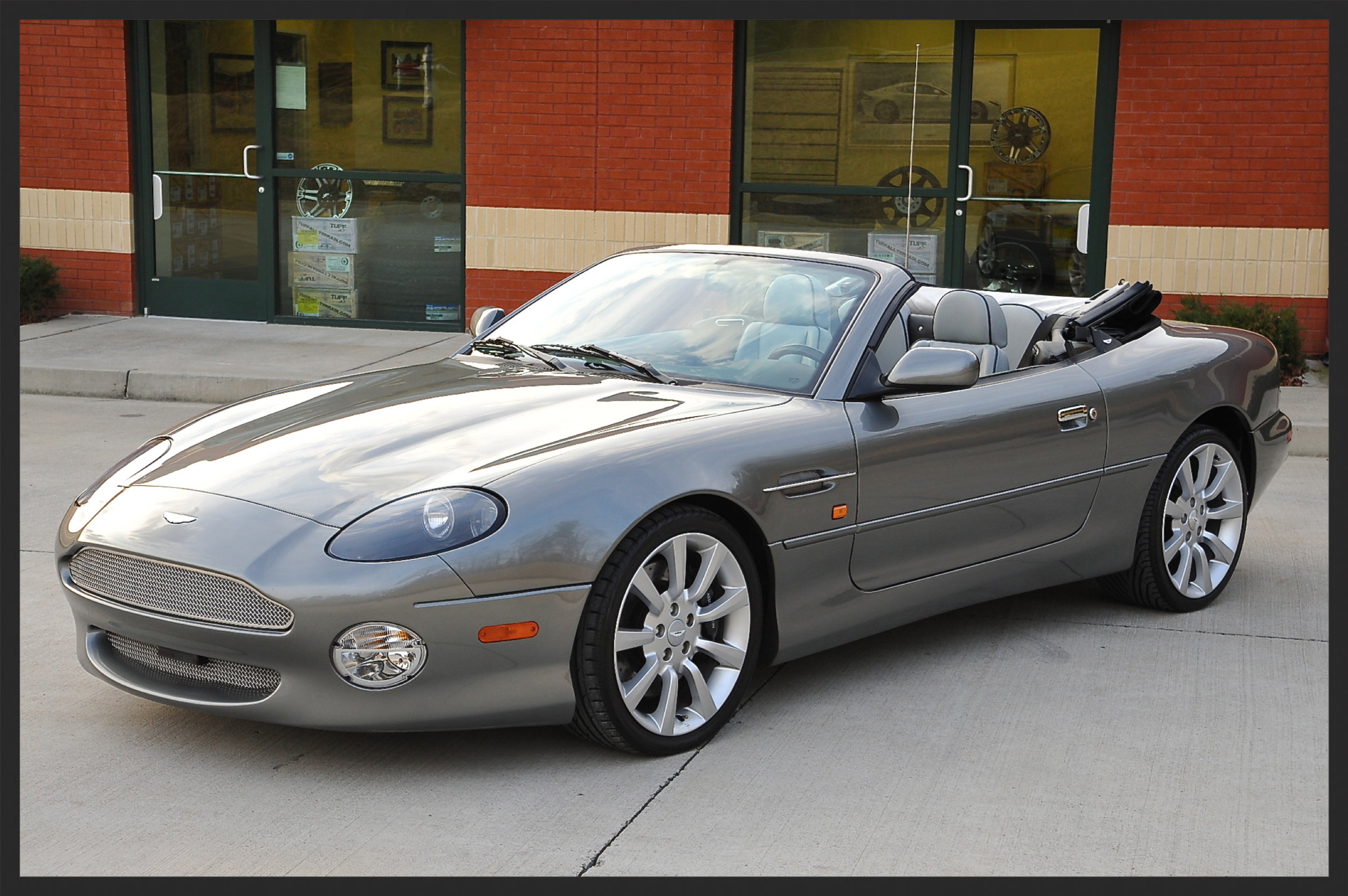 Aston Martin V12....ONLY 8K Original Miles...Stunning Car...Dealer Serviced with ALL Records..Just Received a $4000 Service