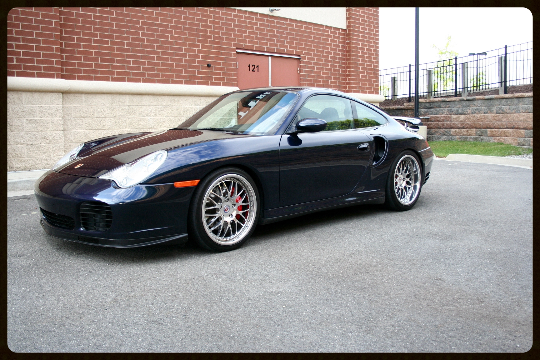 2004 911 Turbo. HRE Wheels, Fabspeed Exhaust, K24 Turbos, GIAC Tuned, Coilover Suspension and Much More. Click to View More Photos