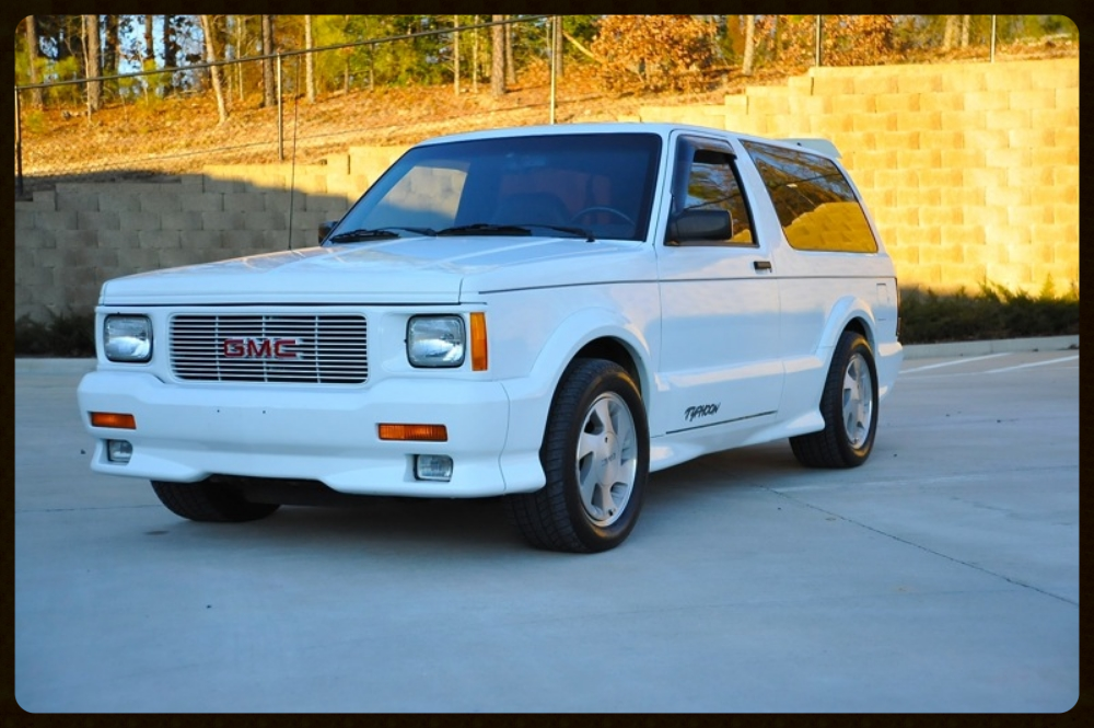 1993 GMC Typhoon Turbo. Very Rare SUV and Truly Amazing Condition and Drives 100%