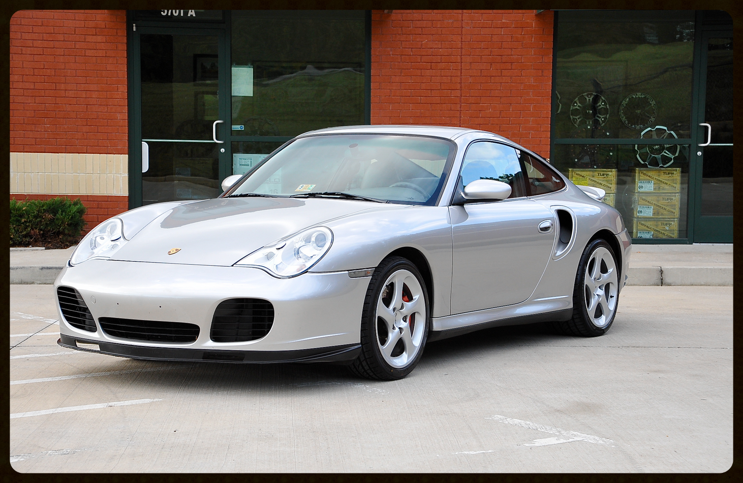 911 Turbo...Polar Silver...Sport Seats...Very Clean...Click to View More Photos