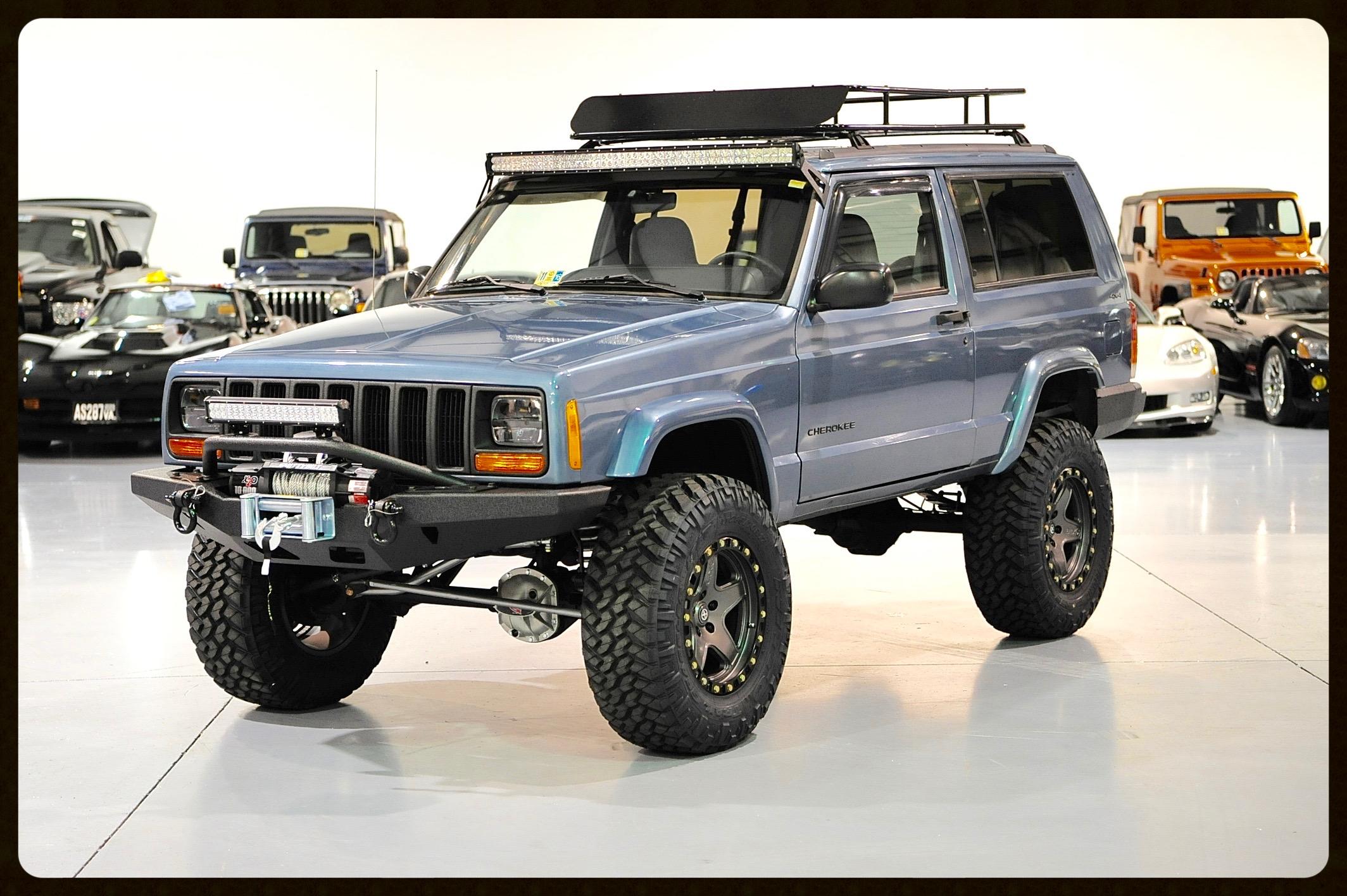 Built Cherokee Old Davis Autosports