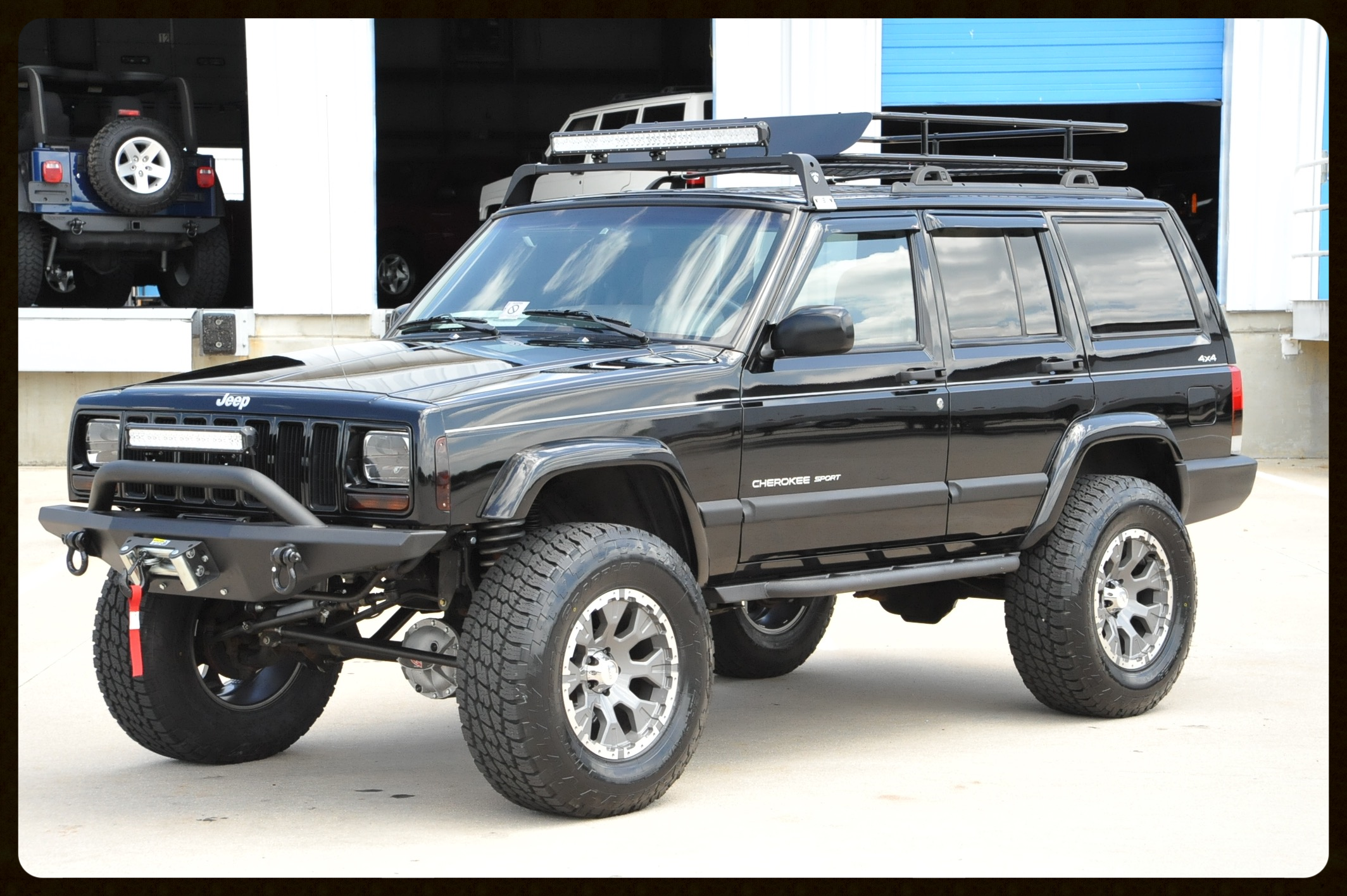 Super Clean Stage 3+ XJ Sport.....Click Here For More Photos and Video