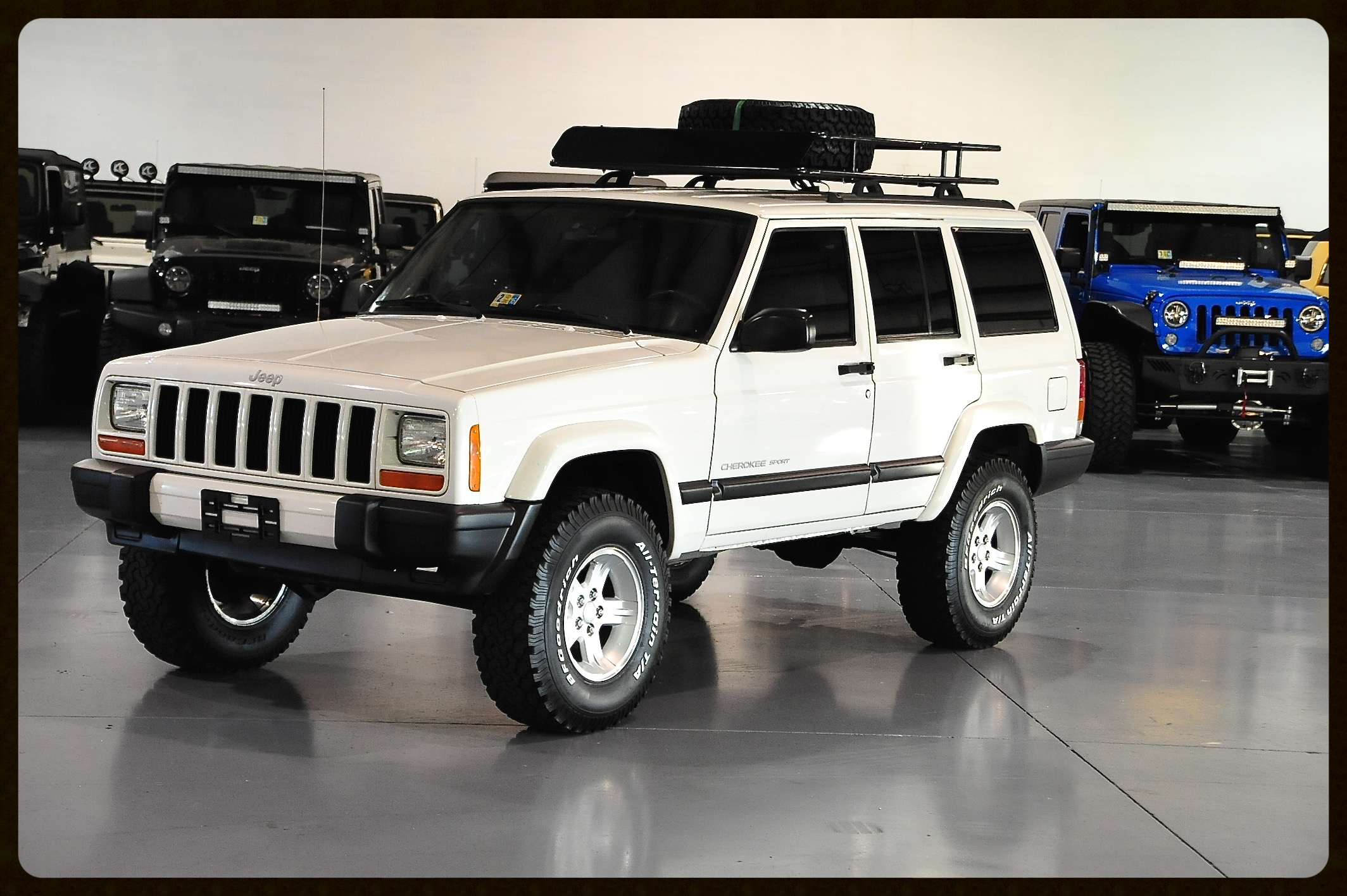 Very Clean and Classy Stage 2....Timeless Looking XJ....Click to view Photos.