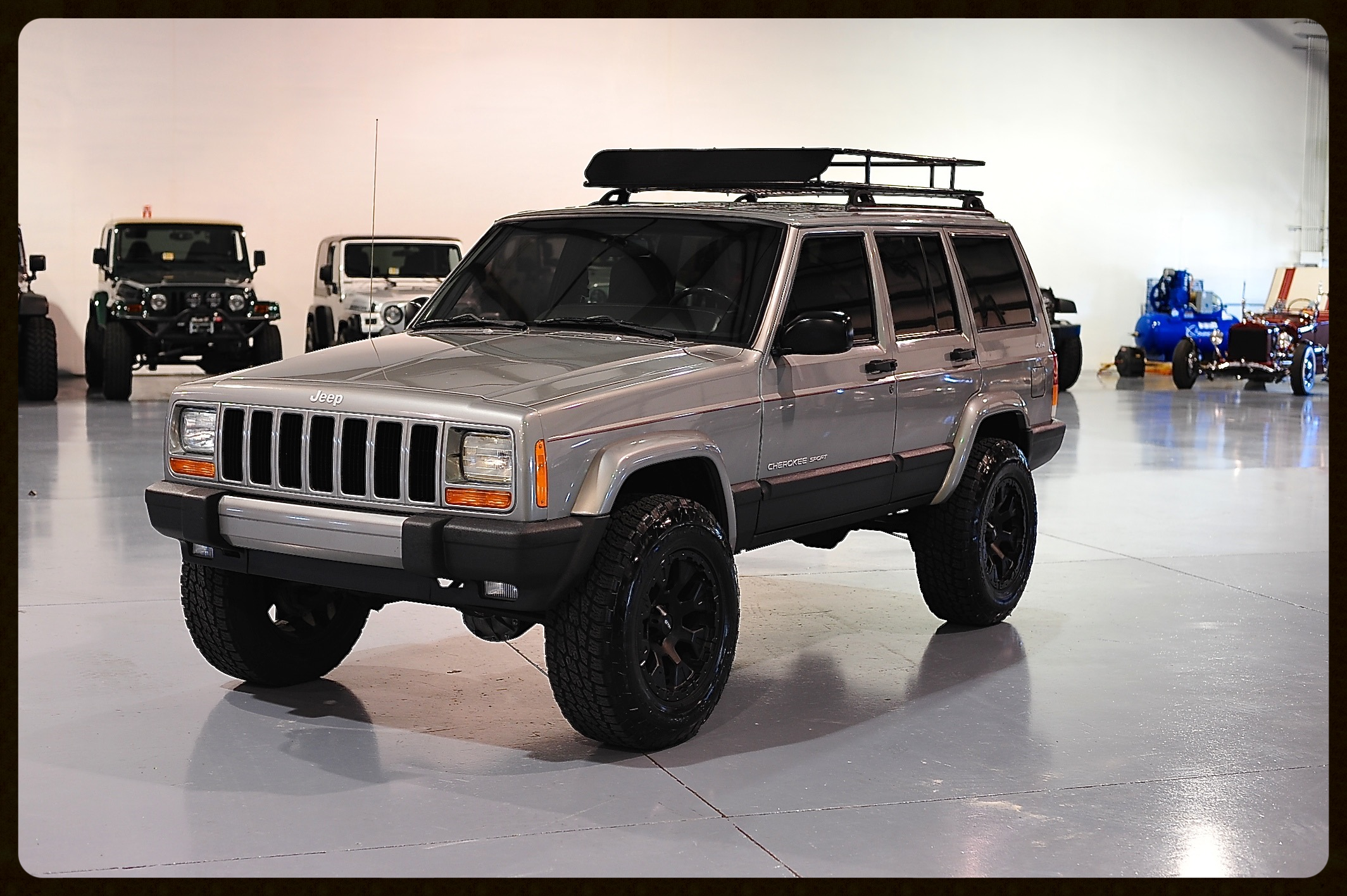 Stage 2 XJ with our In House Kevlar Package...Click to view More Photos and Video