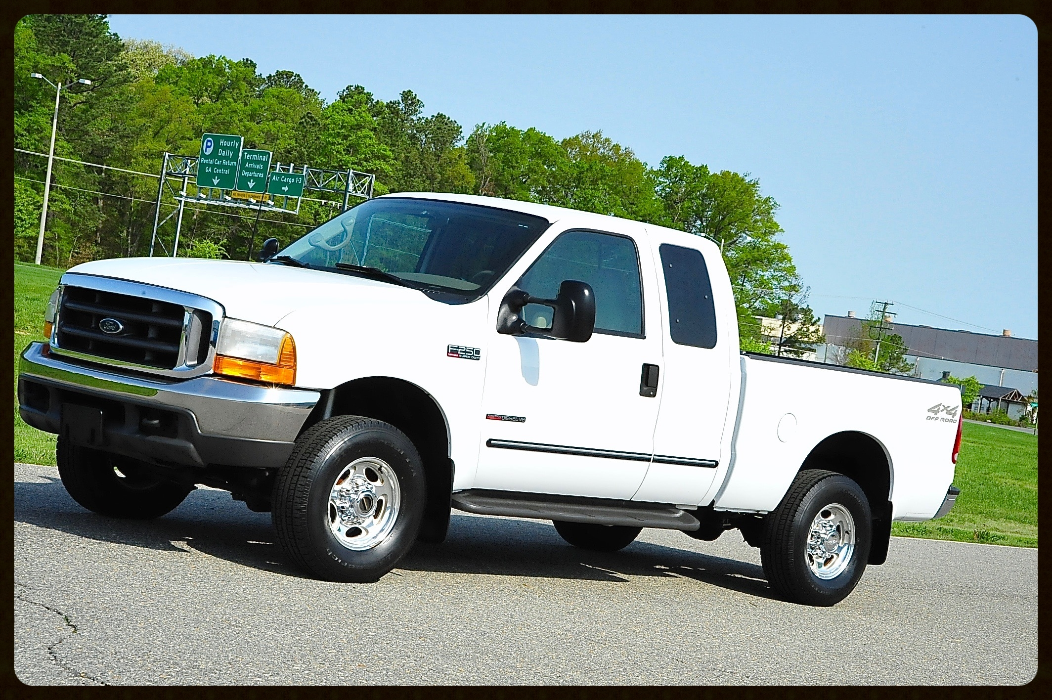 2001 Ford F250 7.3 Diesel with only 58K Original Miles...This Truck is a true 1 Owner and shows like new...Gorgeous Tan Leather Interior and More