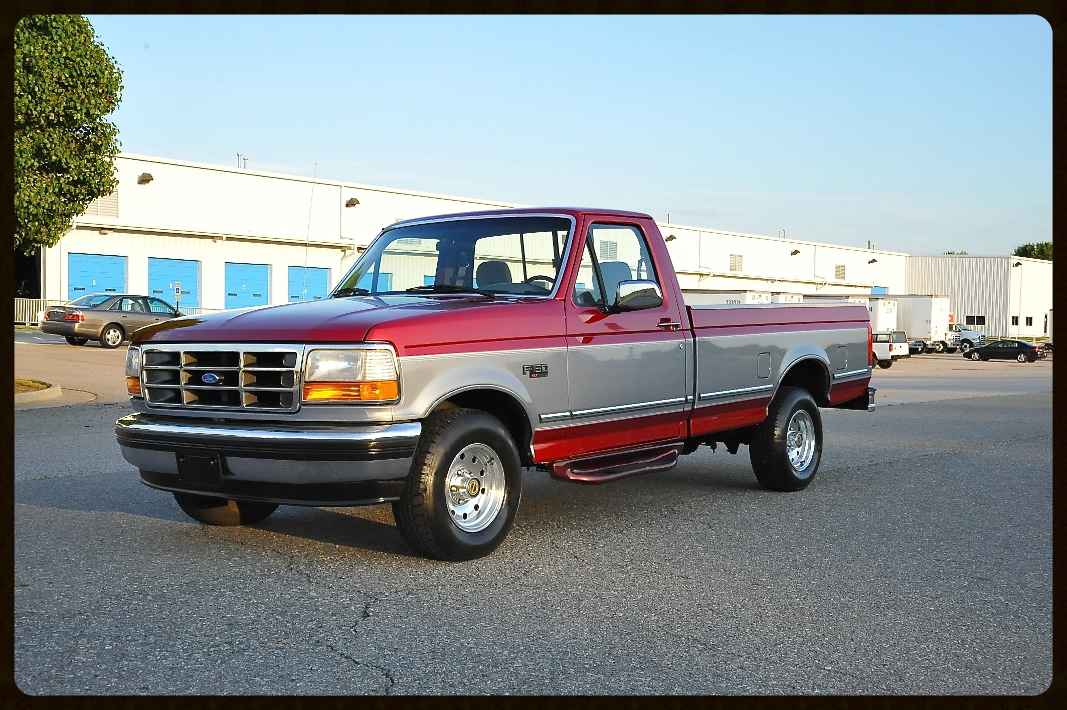 1995 F150 with ONLY 117K ORIGINAL MILES...This was truly Your Old Mans Truck...Owned By the Same Family Since New...Looks Like a 20K Truck