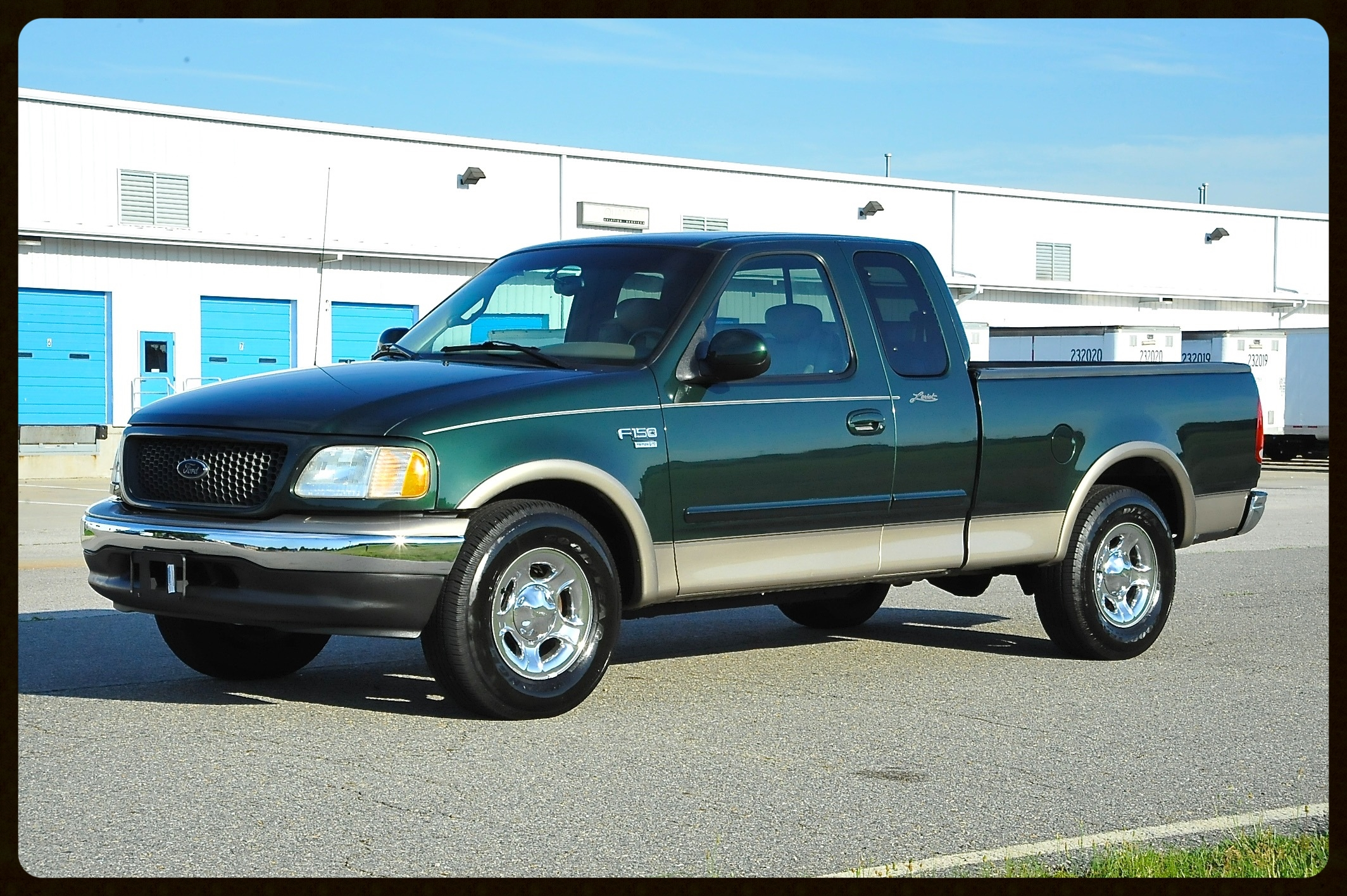 2002 Ford F150 Lariat...Gorgeous Color Combo...Tan Leather....4x4...1 Owner...102K Original Miles But Shows Like a Near New Truck. FL Truck