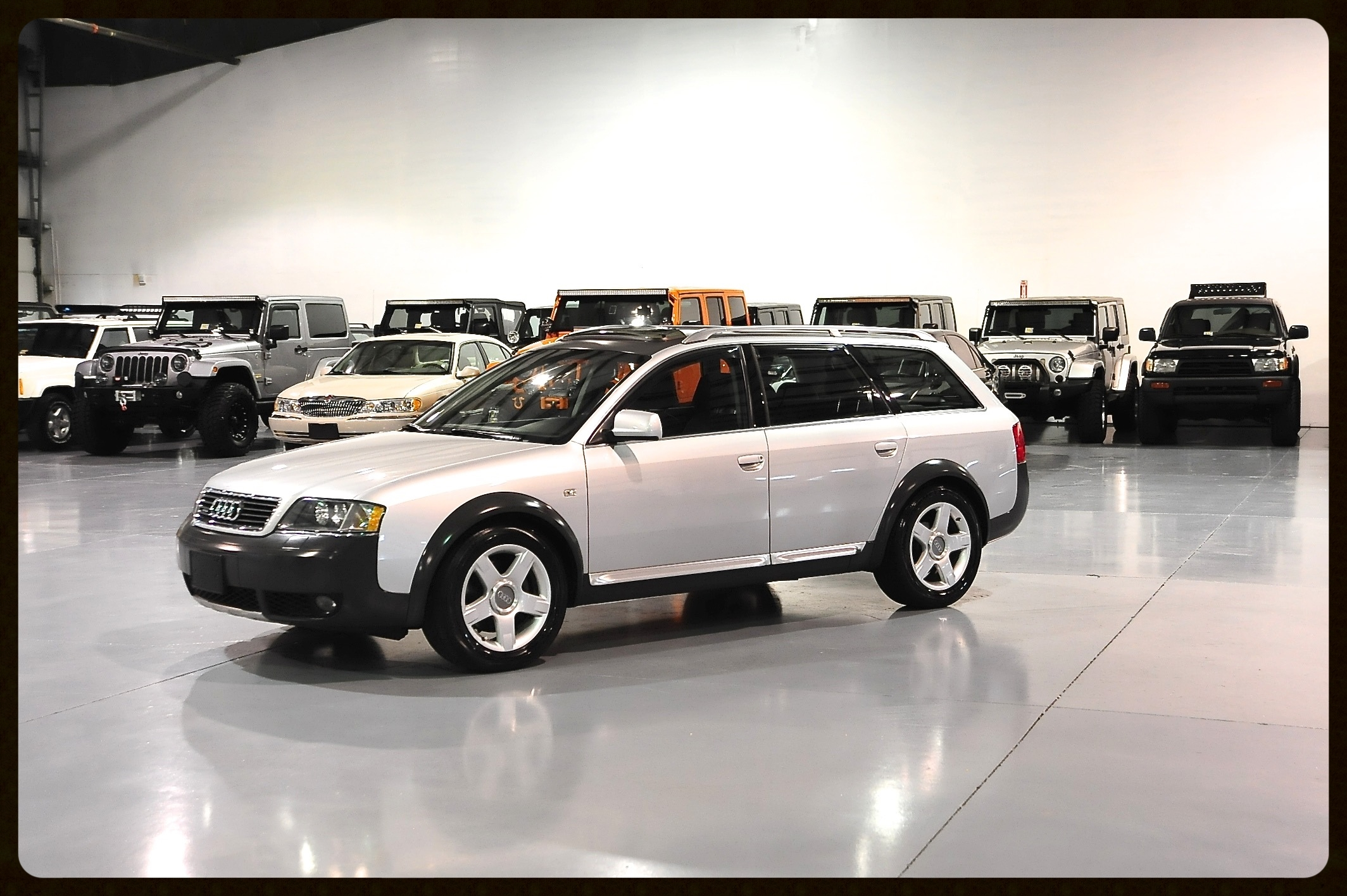 2004 Audi Allroad Twin Turbo...ONLY 34K ORIGINAL MILES...Lowest Mileage B5 Allroad in the Entire Country...Car is Literally Like New