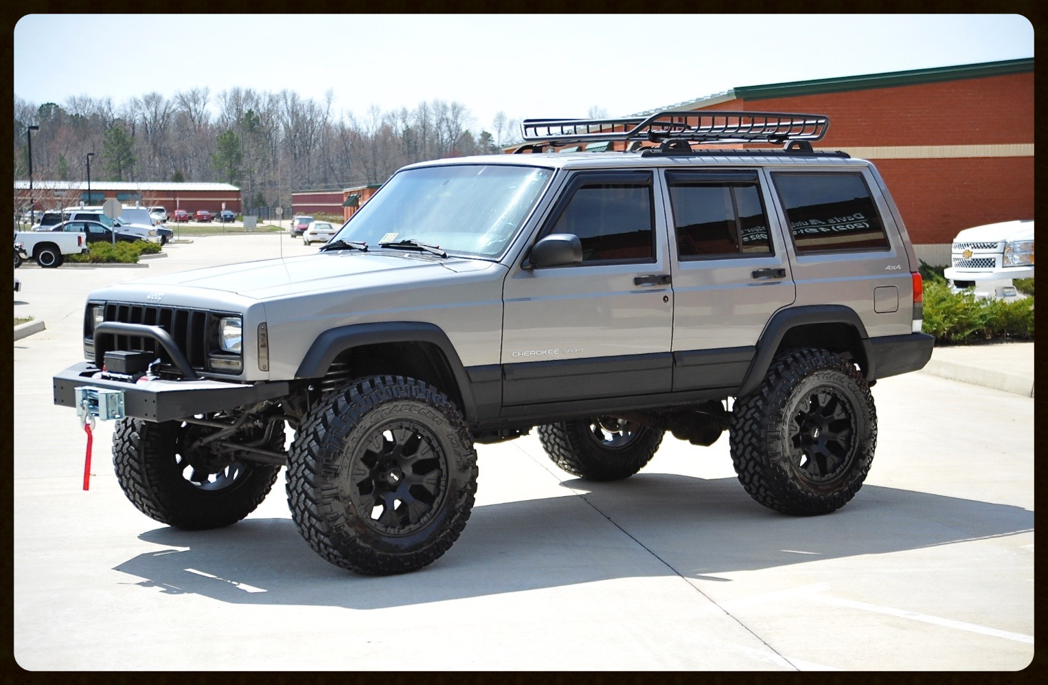 Lifted Cherokee Xj For Sale Jeep Cherokee Lifted For Sale Davis Autosports Davis Autosports
