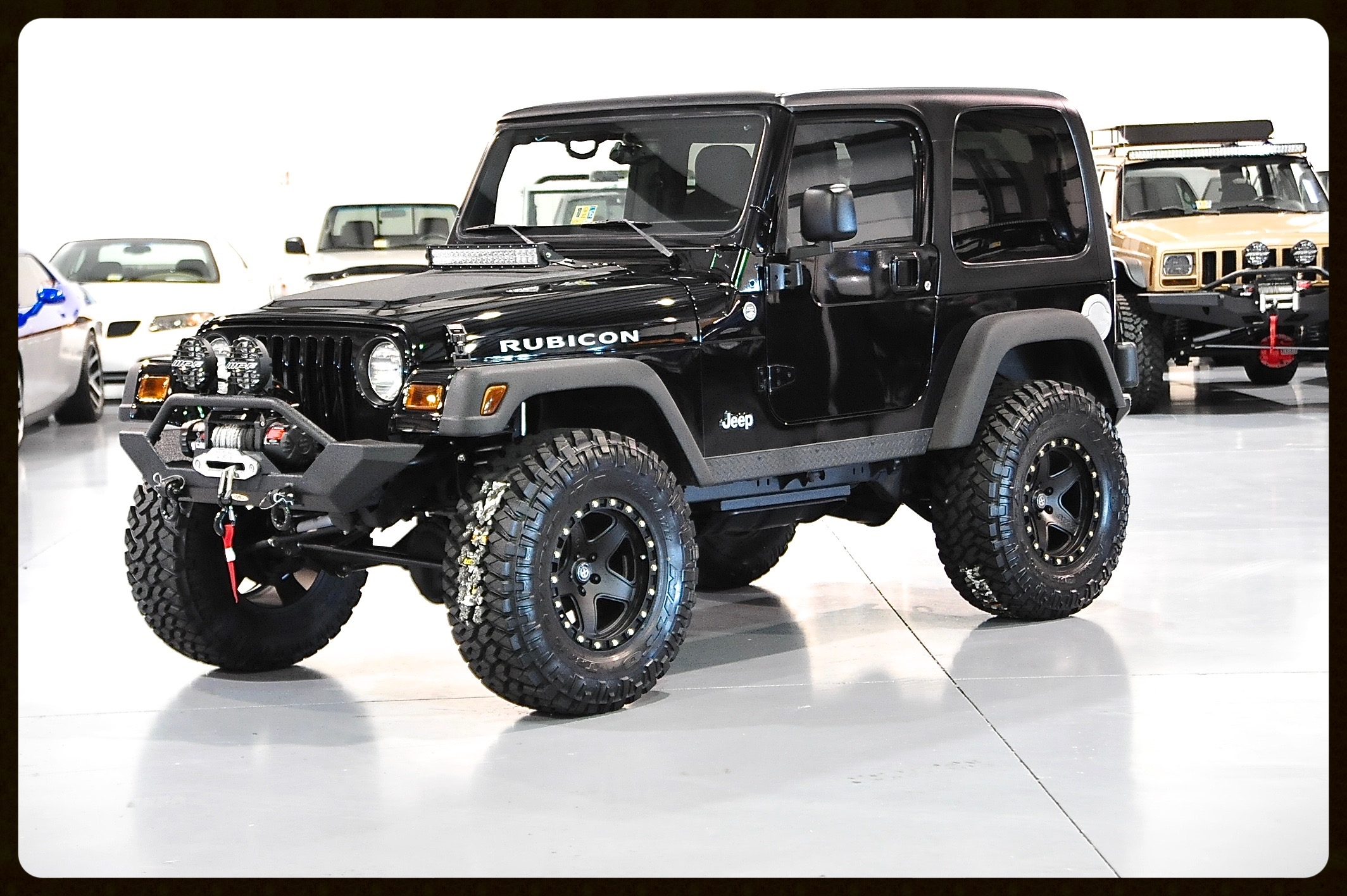 2006 Rubicon with ONLY 33K MILES....TONS and TONS of Upgrades on this Like New TJ...Very Rare Opportunity to Own Such a Unique Jeep