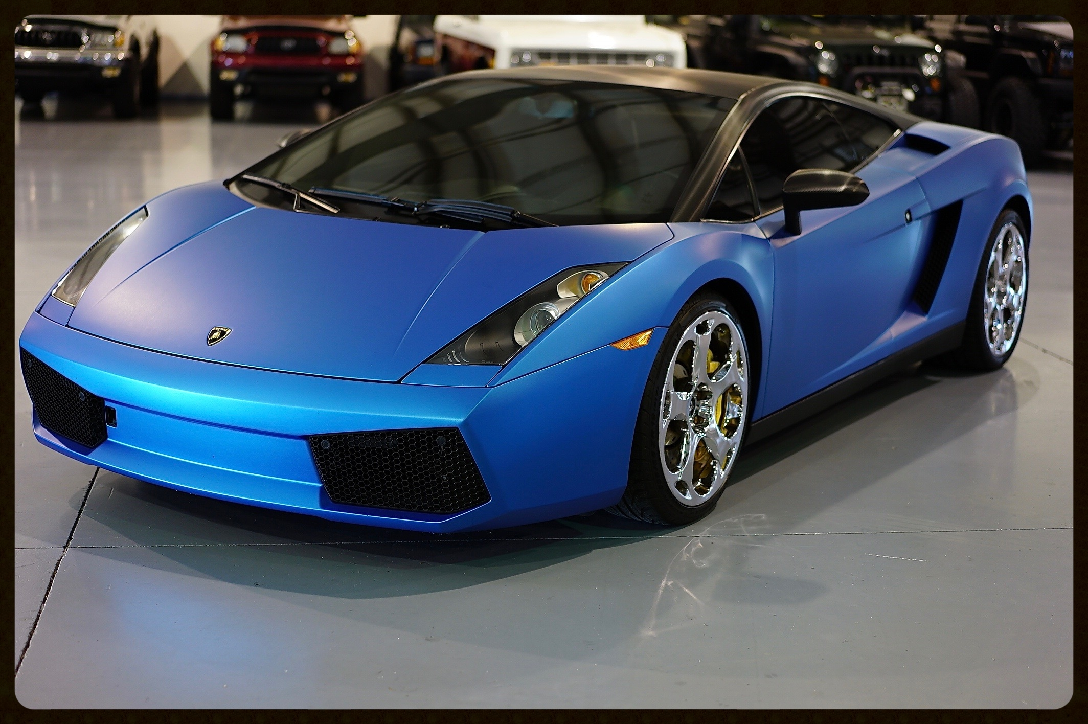 2007 Lamborghini Gallardo...We Just Installed a New Clutch, Flyhwheel, Spark Plugs, Oil Change and Filter. Matte Blue Frozen Wrap & More. $114,900