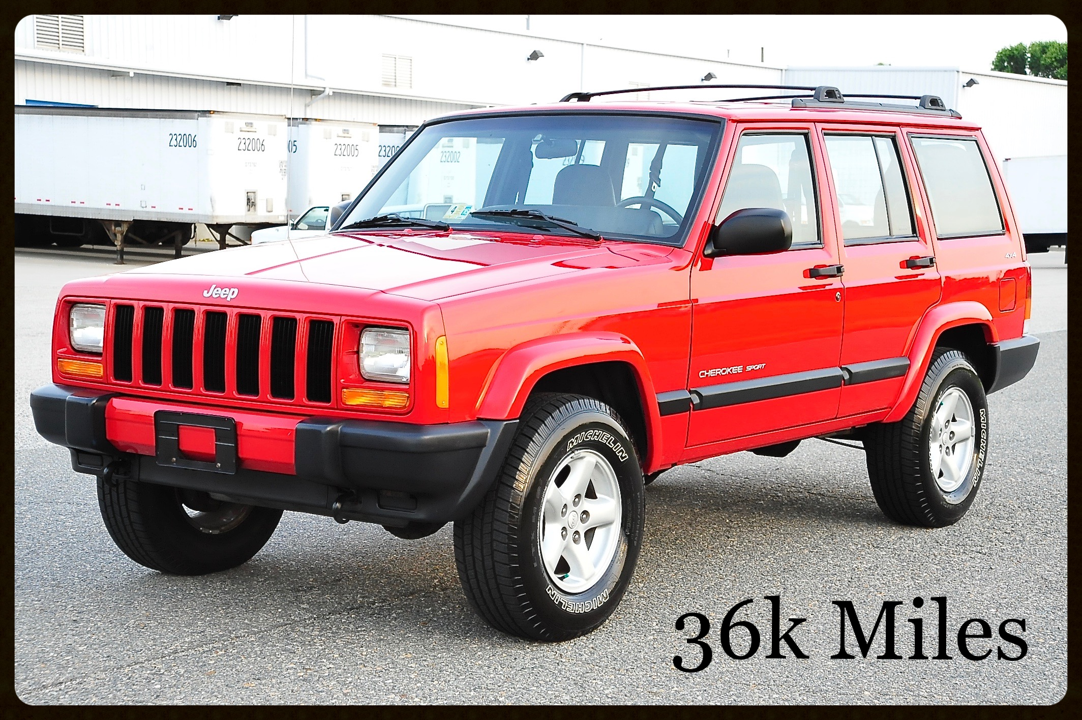 ONLY 36K MILES....Very Rare Up Country Package...This Jeep Is Brand New...Click for Photos and Video