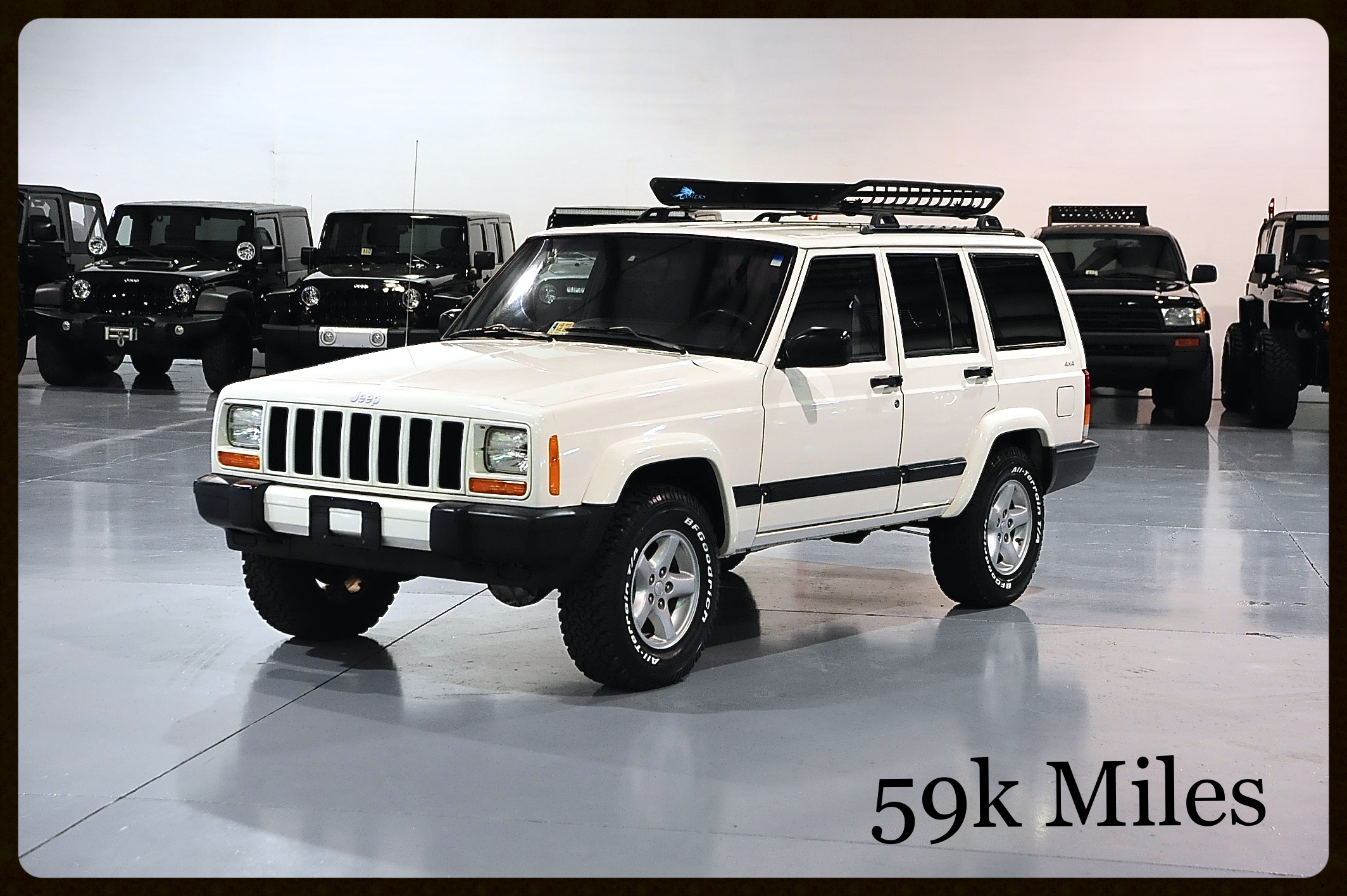 ONLY 59K MILES....Another great example of one of our original Cherokees. Click here for More Photos and Video