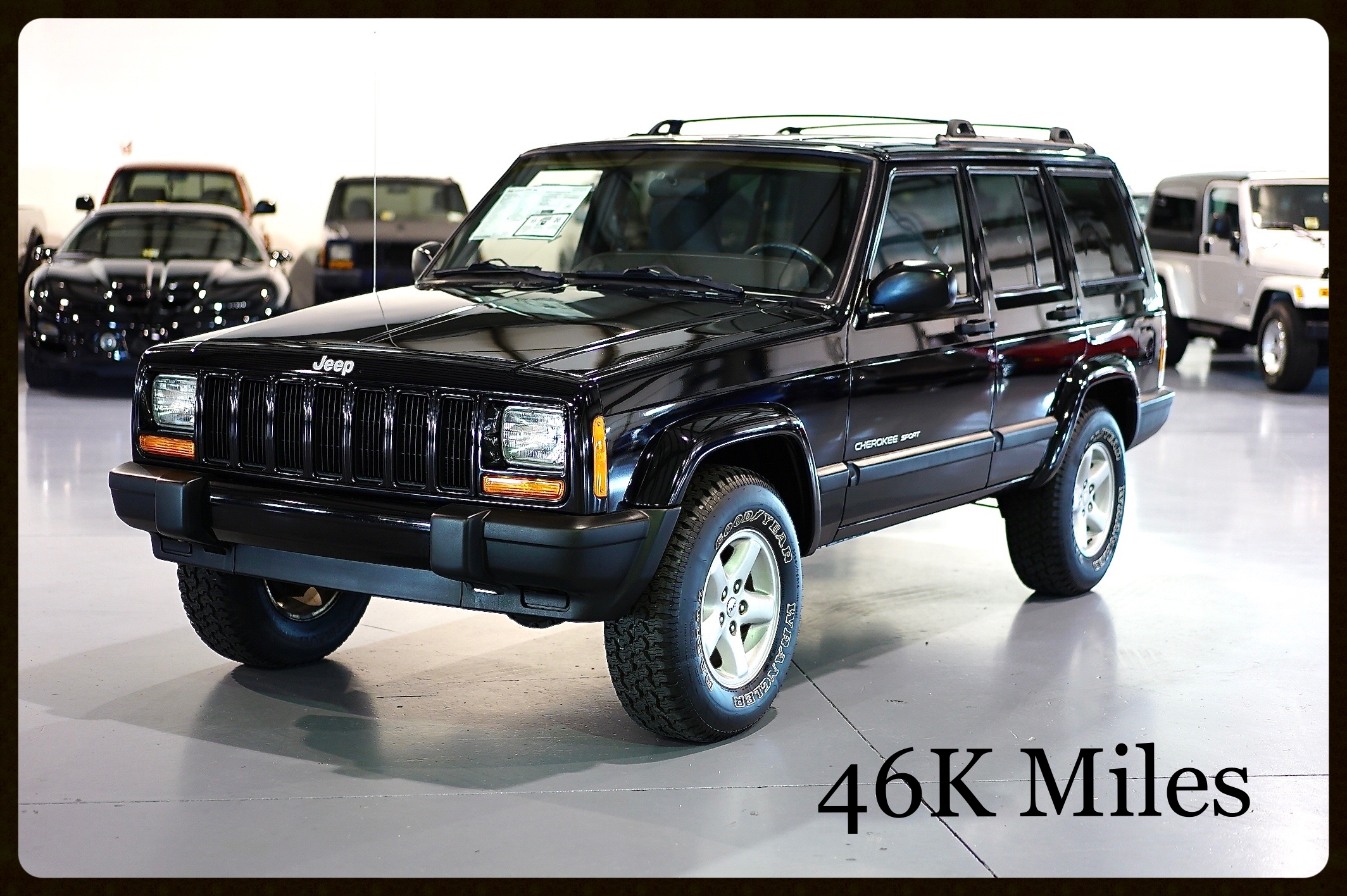 2001 Jeep Cherokee Sport....1 OWNER with only 46K Miles...This Jeep is Very Clean and Drives 100%. Click Here to View 4K Video and 100+ Photos