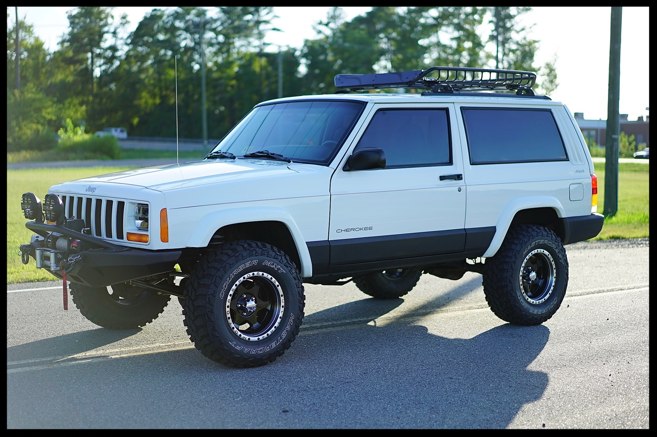 Check Out This Stage 2+ 2 Door...This XJ has just 73k Miles, and EVERYTHING IS BRAND NEW....Click Here For all Photos and Video