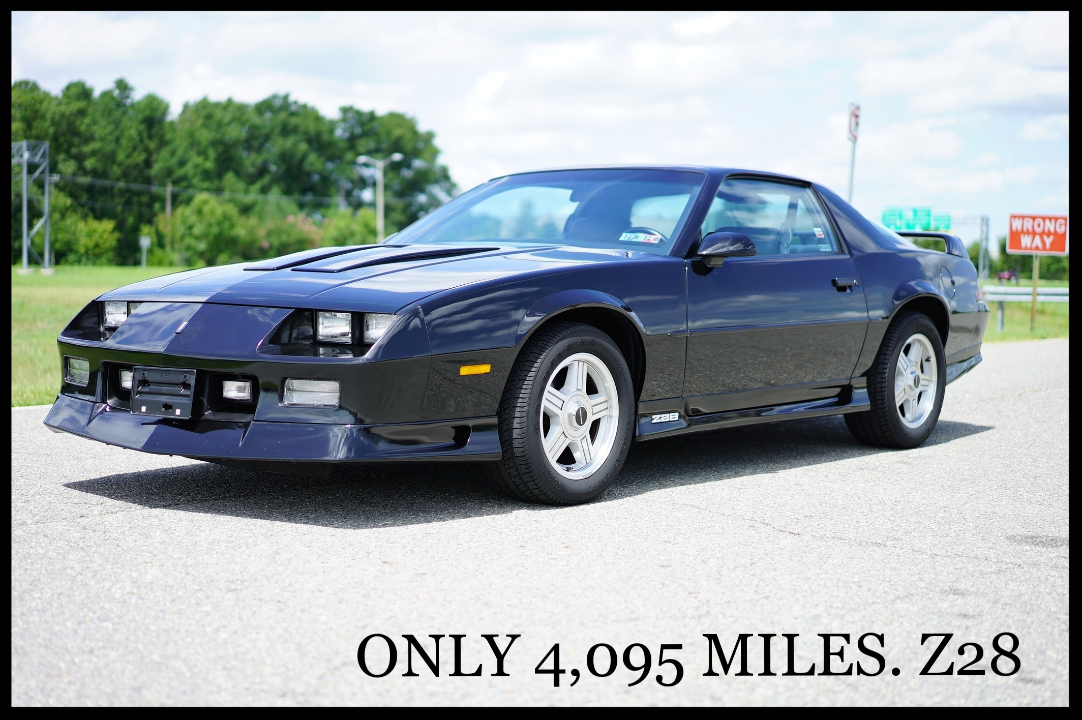 1992 Camaro Z28 25th Ann. Edition....ONLY 4K ORIGINAL MILES...Collector Quality....Investment Vehicle and Very Rare