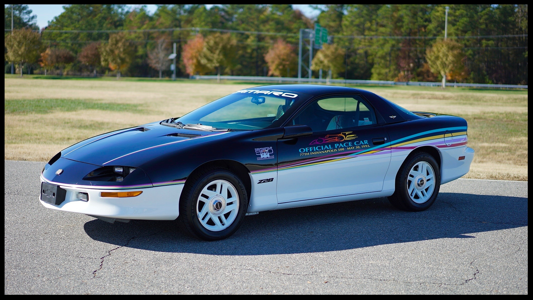 Very RARE 1993 Factory Camaro Pace Car with ONLY 4K Miles...