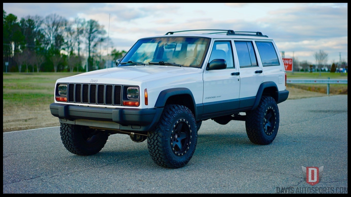 Lifted Jeep Cherokee XJ Sport For Sale